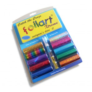The Foilart Xtreme Arts and Craft Kit. Order Online and we will send your Craft Kit to you anywhere in South Africa, Gauteng, Cape Town.