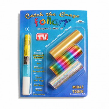 The Foilart Touch Arts and Craft Kit. Order Online and we will send your Craft Kit to you anywhere in South Africa, Gauteng, Cape Town.