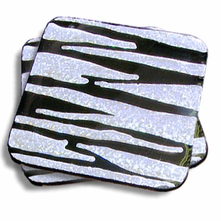 Coasters Created With Foilart Metallic Foil Transfers